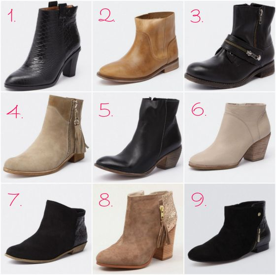 1907ef30b9a6 Wardrobe boot camp   howtowearankleboots. Ankle boots autumn-winter ...