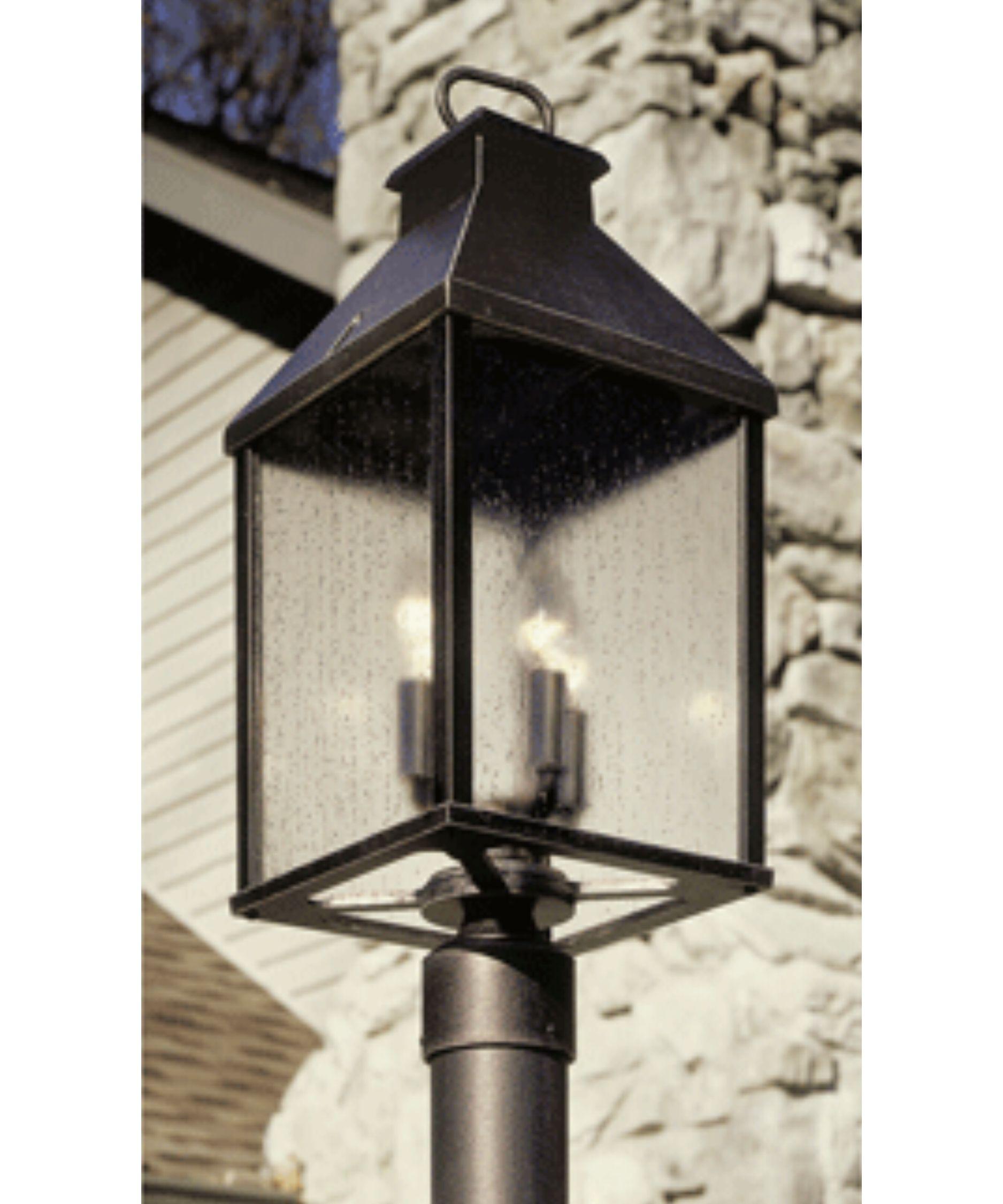 Hanover Lantern B25230 Cape Cod Medium 4 Light Outdoor Post Lamp