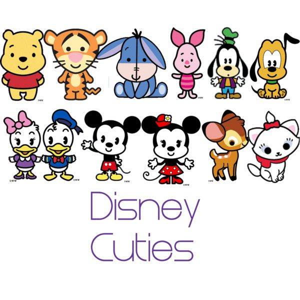 Cartoon Characters 2010 : Disney cuties stuff board and create
