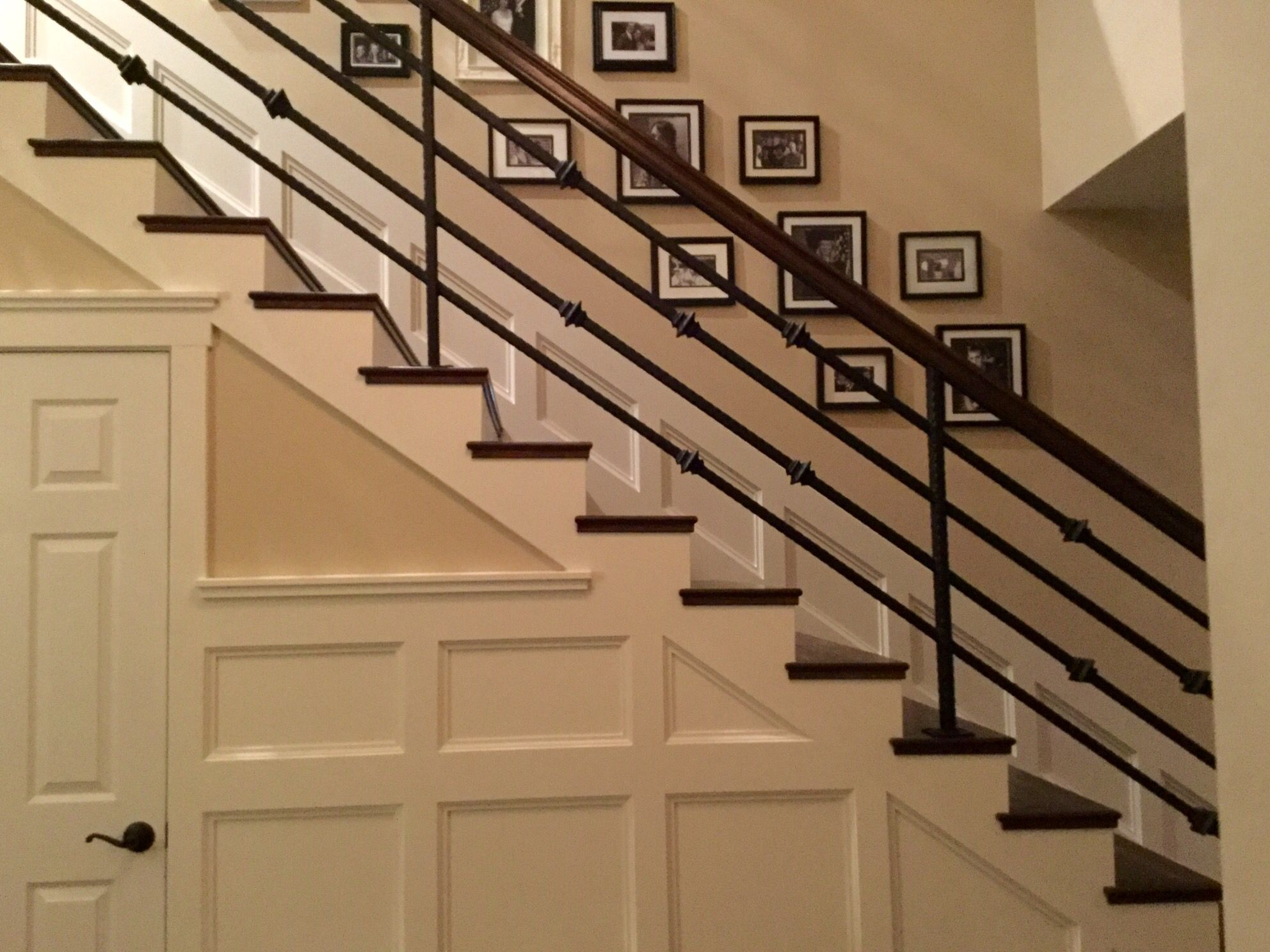 Added The Board And Batten Wainscoting Plus The Custom Horizontal