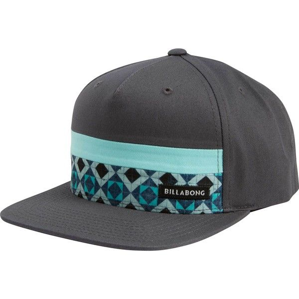 Billabong Unisex Tribong Snapback Hat ( 30) ❤ liked on Polyvore featuring  accessories e27b9da15b1