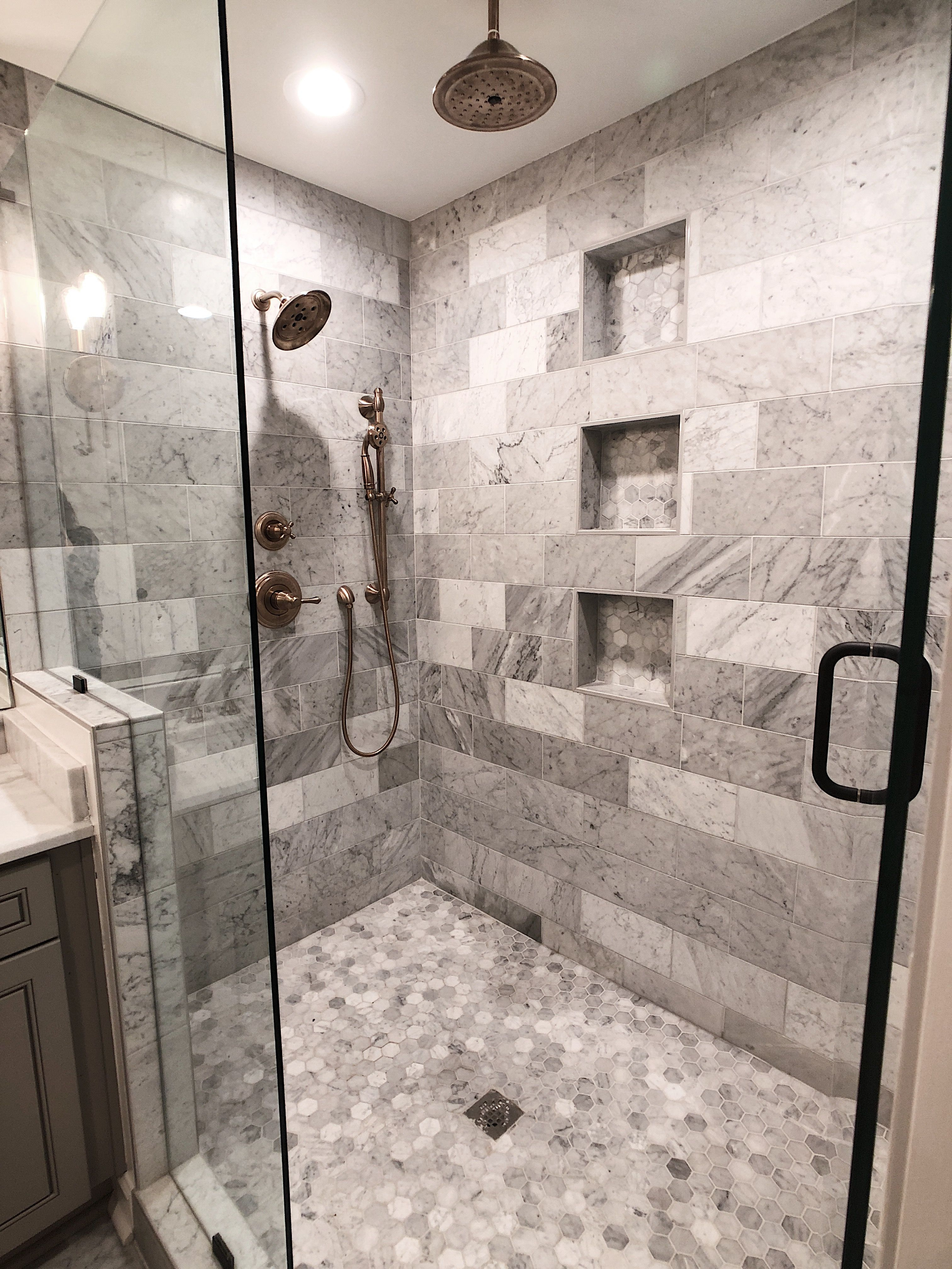 Bathroom Renovation By Frame To Finish Builders In Atlanta Marble