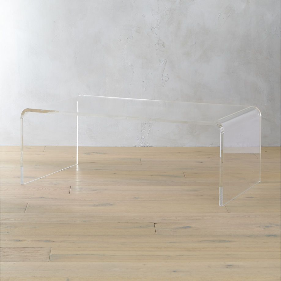 - Lucite Coffee Table Coffee Table, Acrylic Coffee Table, Tall