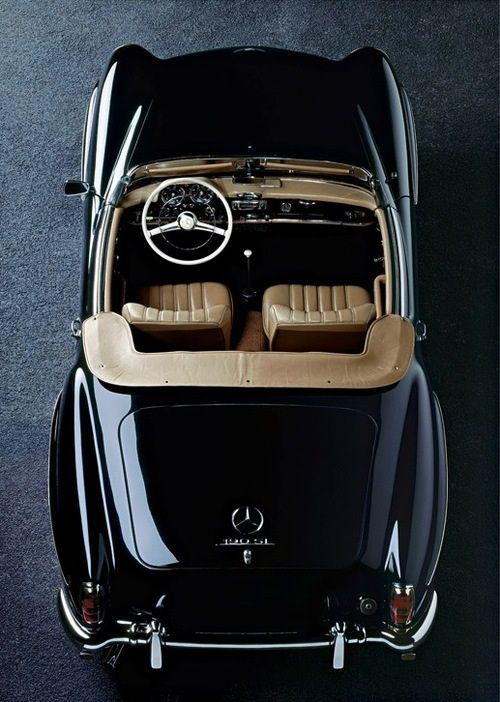 I've always wanted an old Mercedes to roam around the country in...