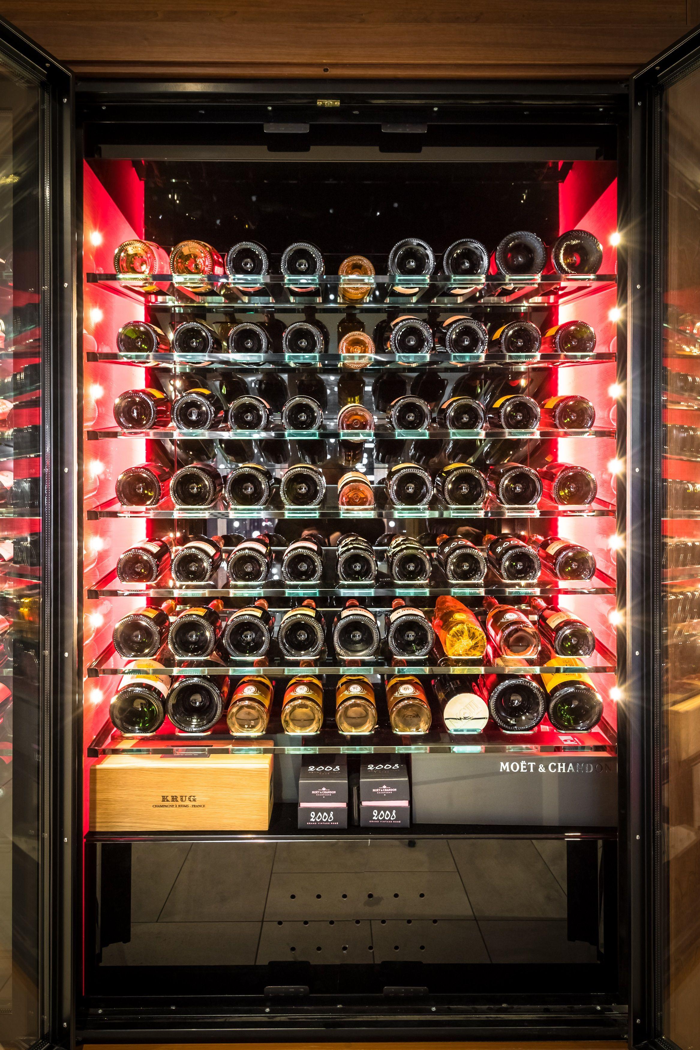 Armoire A Vin Vitree Design Sur Mesure Luxury Wine Cabinet With