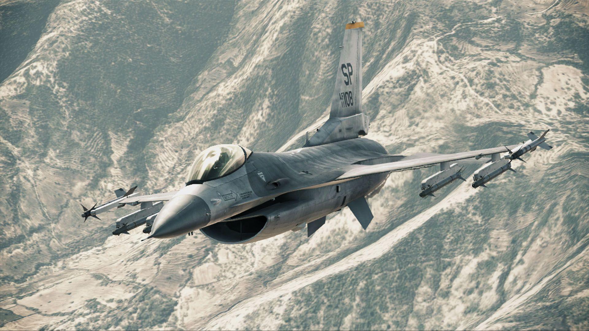 F 16 Fighting Falcon Oyun