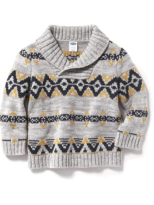 Classy sweater for the little man. Winter 2015 Fair Isle Sweater ...