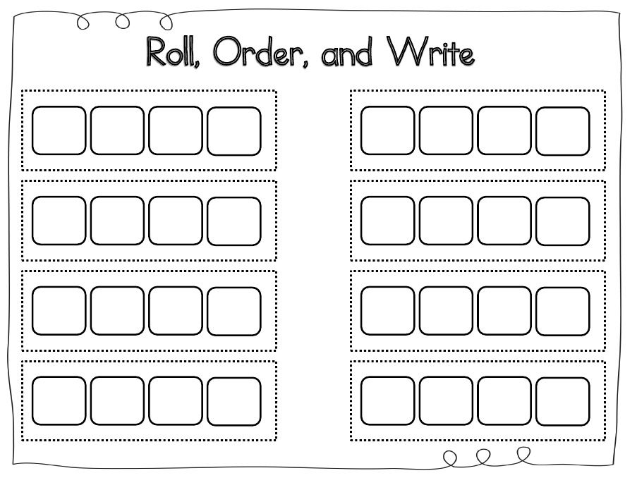 Roll Order Write Students Will Be Placed In Groups Of 4 Students