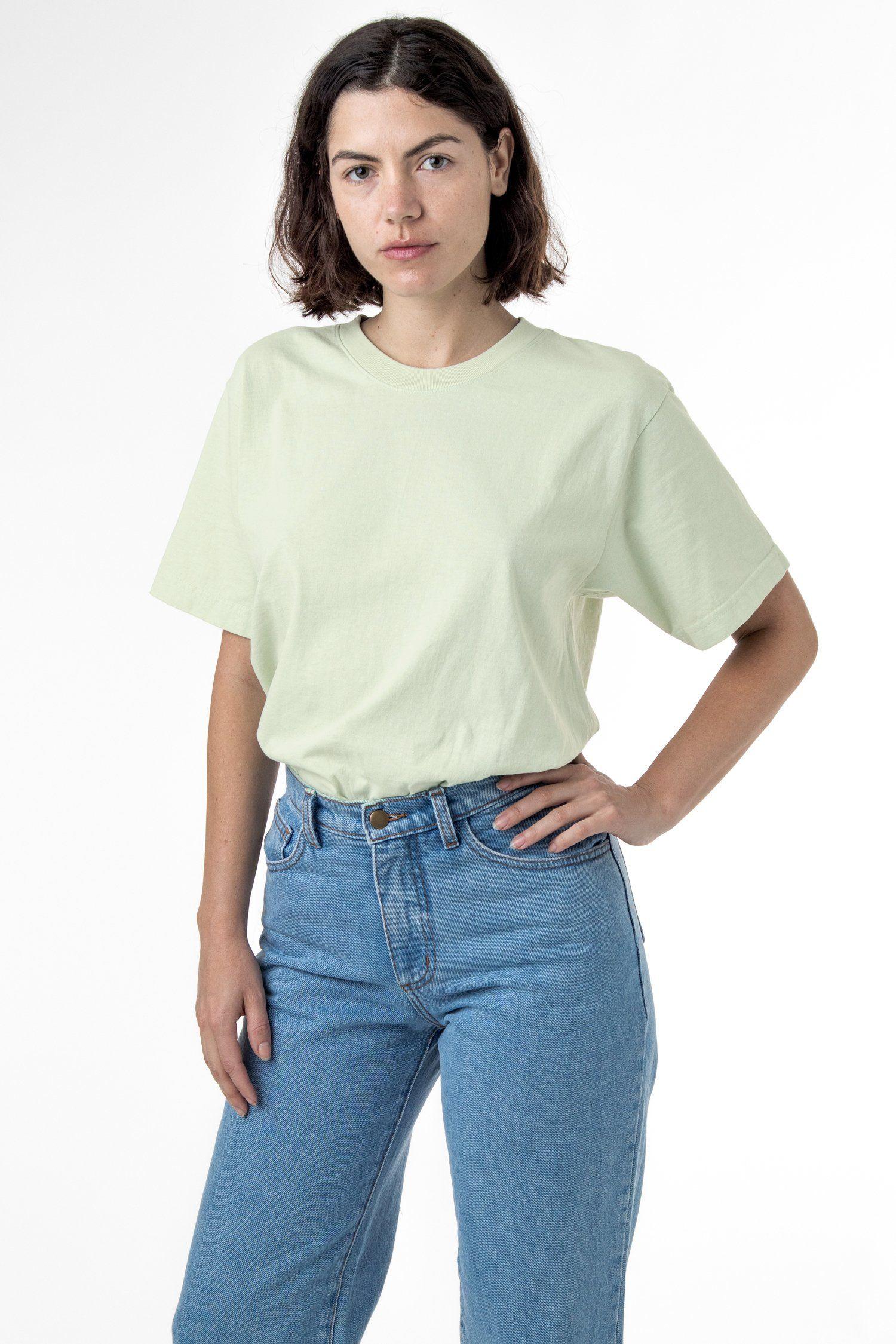 1801gd Unisex 6 5oz Garment Dye Pastel Crew Neck T Shirt Garment Dye Sweaters And Leggings Garment