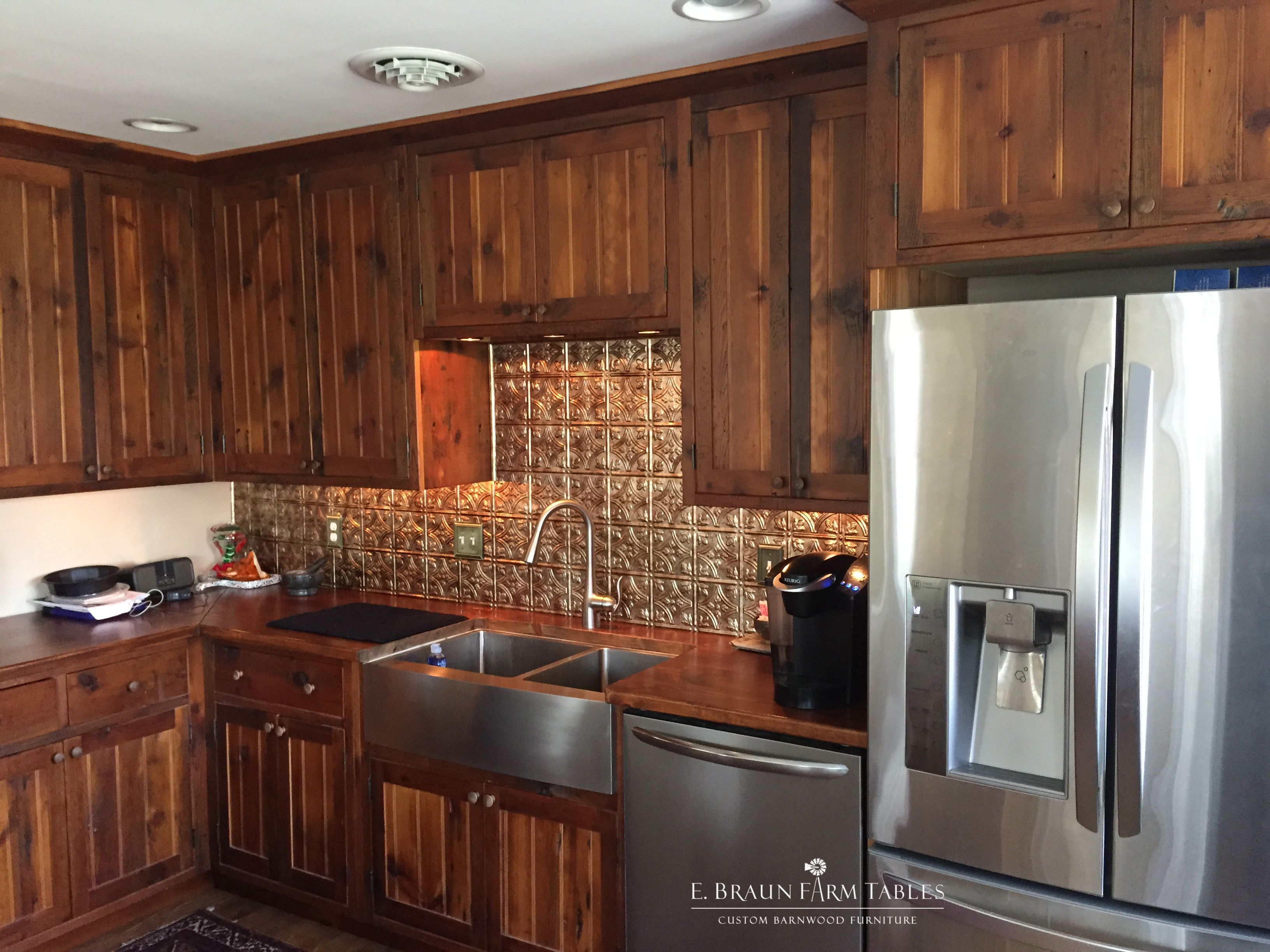 Exquisite custom kitchen with stunning cabinets made from ...