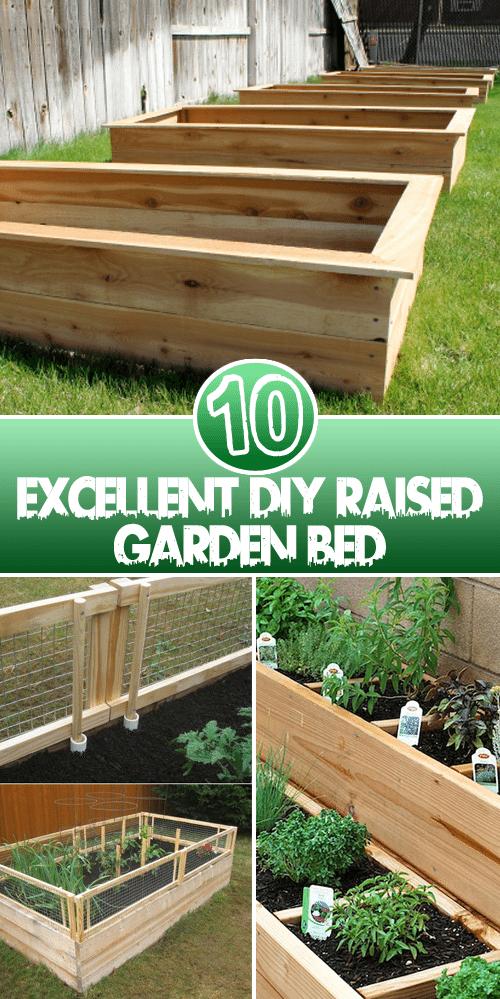 10 Excellent Diy Raised Garden Bed Vegetable Garden 400 x 300
