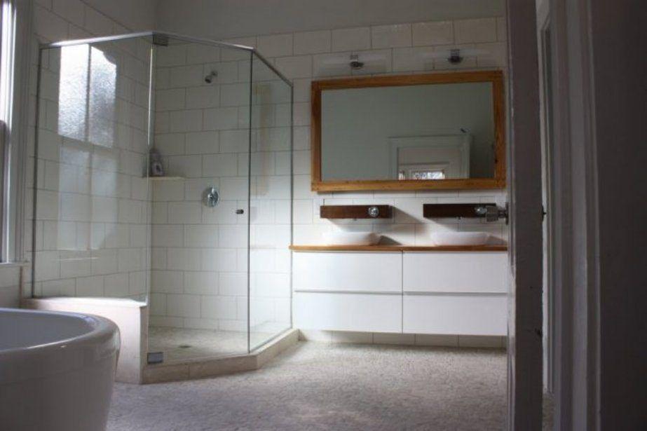bathroom neo angle shower stall  neo angle shower