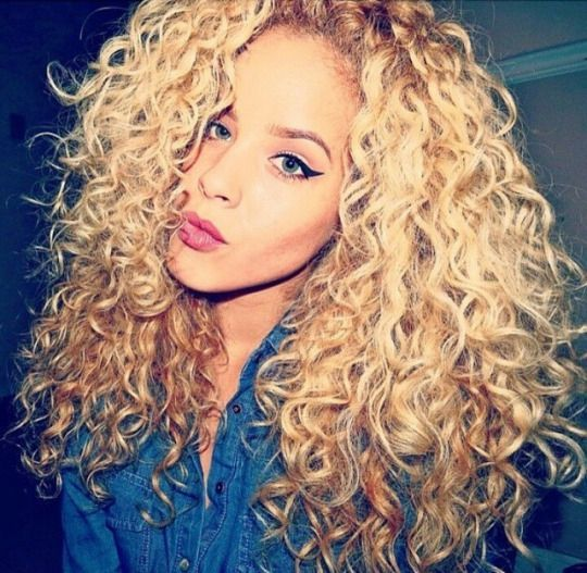 Honey Blonde Brazilian Curly Virgin Hair Extensions With