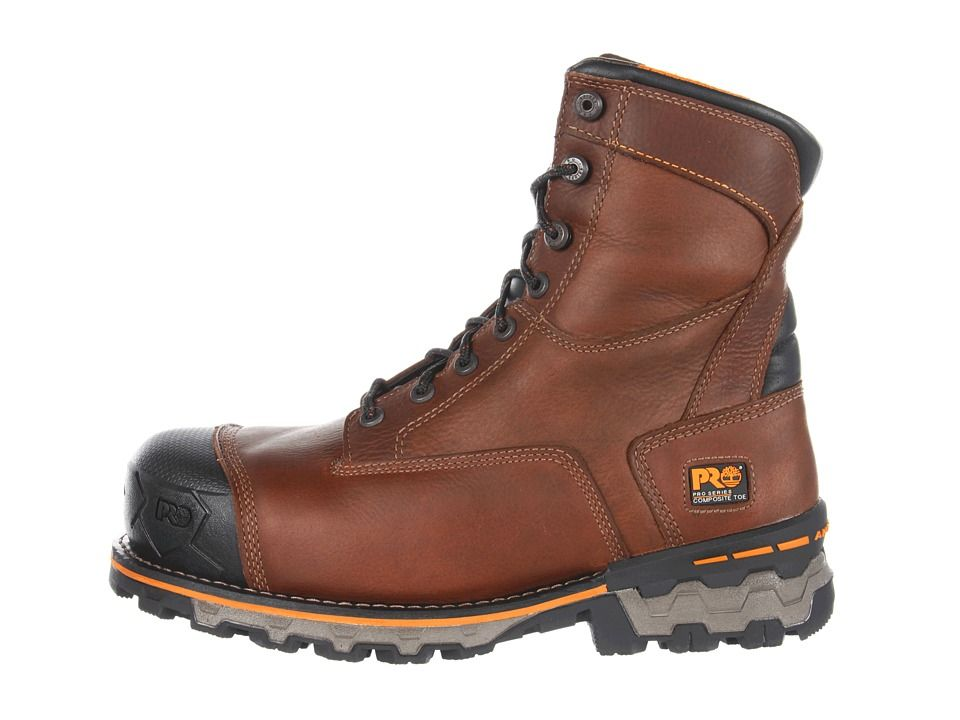 5ad7d4d9e82 Timberland PRO Boondock WP Insulated Comp Toe Men's Work Boots Brown ...
