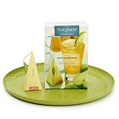 Summer refreshment: Tea Forte White Ginger Pear Iced Tea