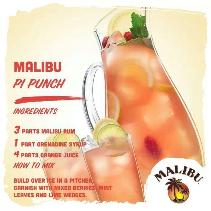 Malibu is a girls best friend!