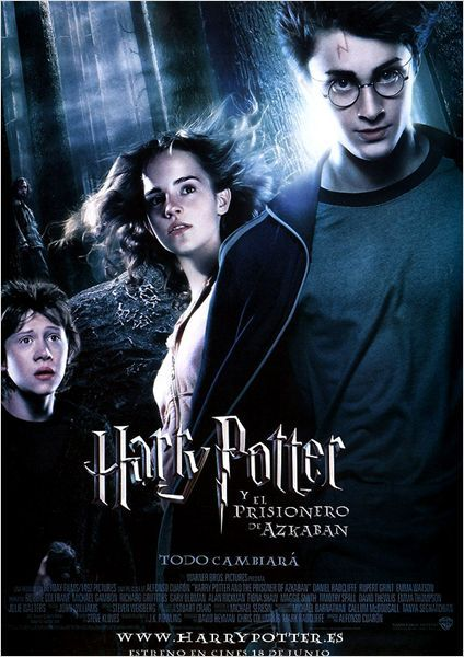 Harry Potter Y El Prisionero De Azkaban Cartel Prisoner Of Azkaban The Prisoner Of Azkaban Harry Potter Movies