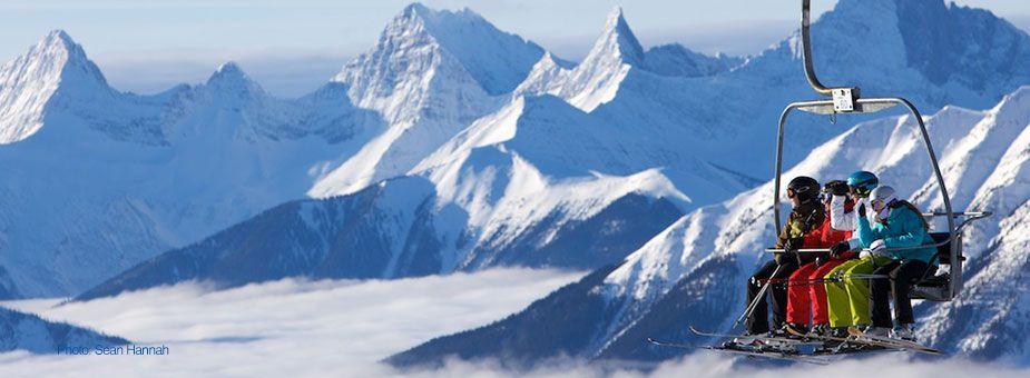 Sunshine Village Ski & Snowboard Resort in Banff (Alberta