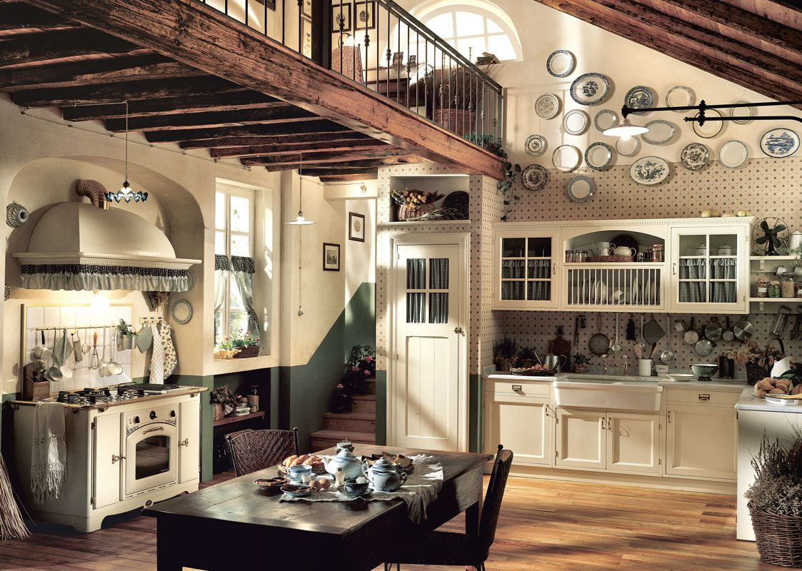 Marchi Group – English Country-Style Kitchen Old England ...