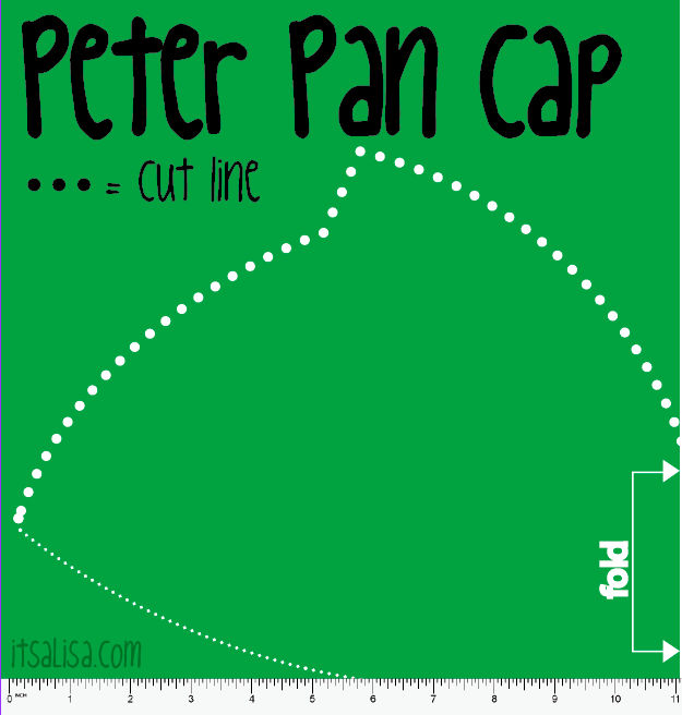 Peter Pan Hat pattern