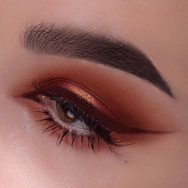 "Another artistic look @greta_ag  #DipBrow pomade in ""Ebony"" on brows  The liner is ""Heathers"" liquid lipstick used as eyeliner mixed with a dark brown lip pencil✨✨✨ #anastasiabeverlyhills #anastasiabrows"