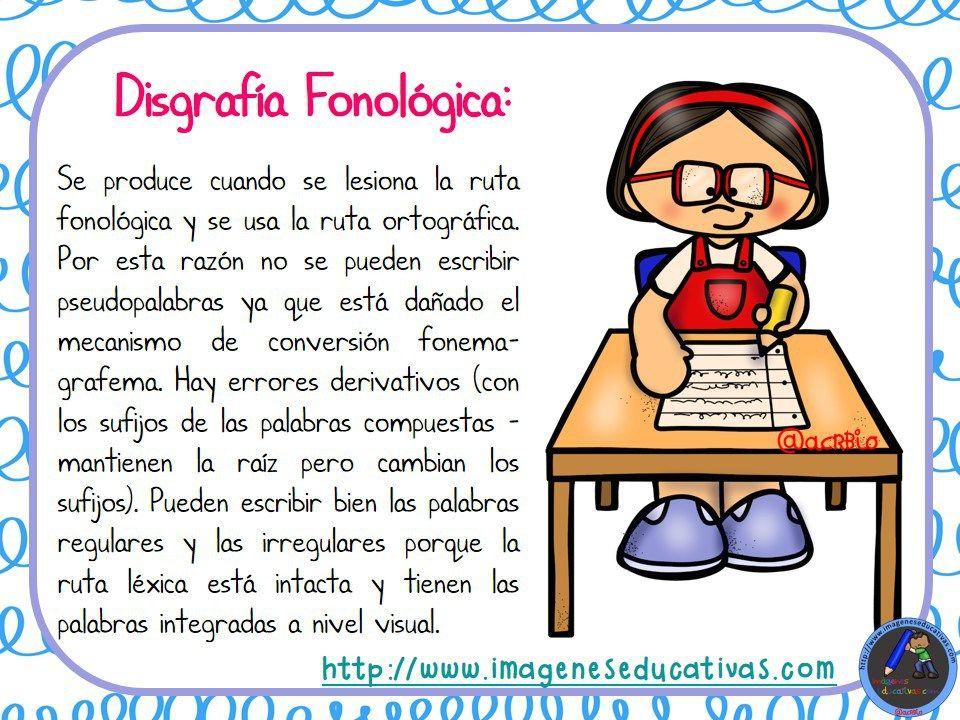 Tipos De Disgrafía Disgrafía Problemas De Aprendizaje Actividades De Aprendizaje Preescolares