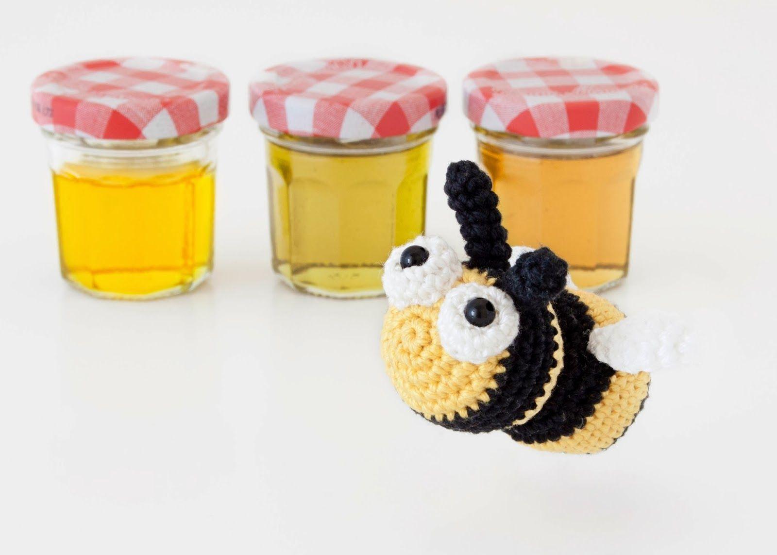 amigurumi abeja | Amigurumis PequiCosas | Pinterest