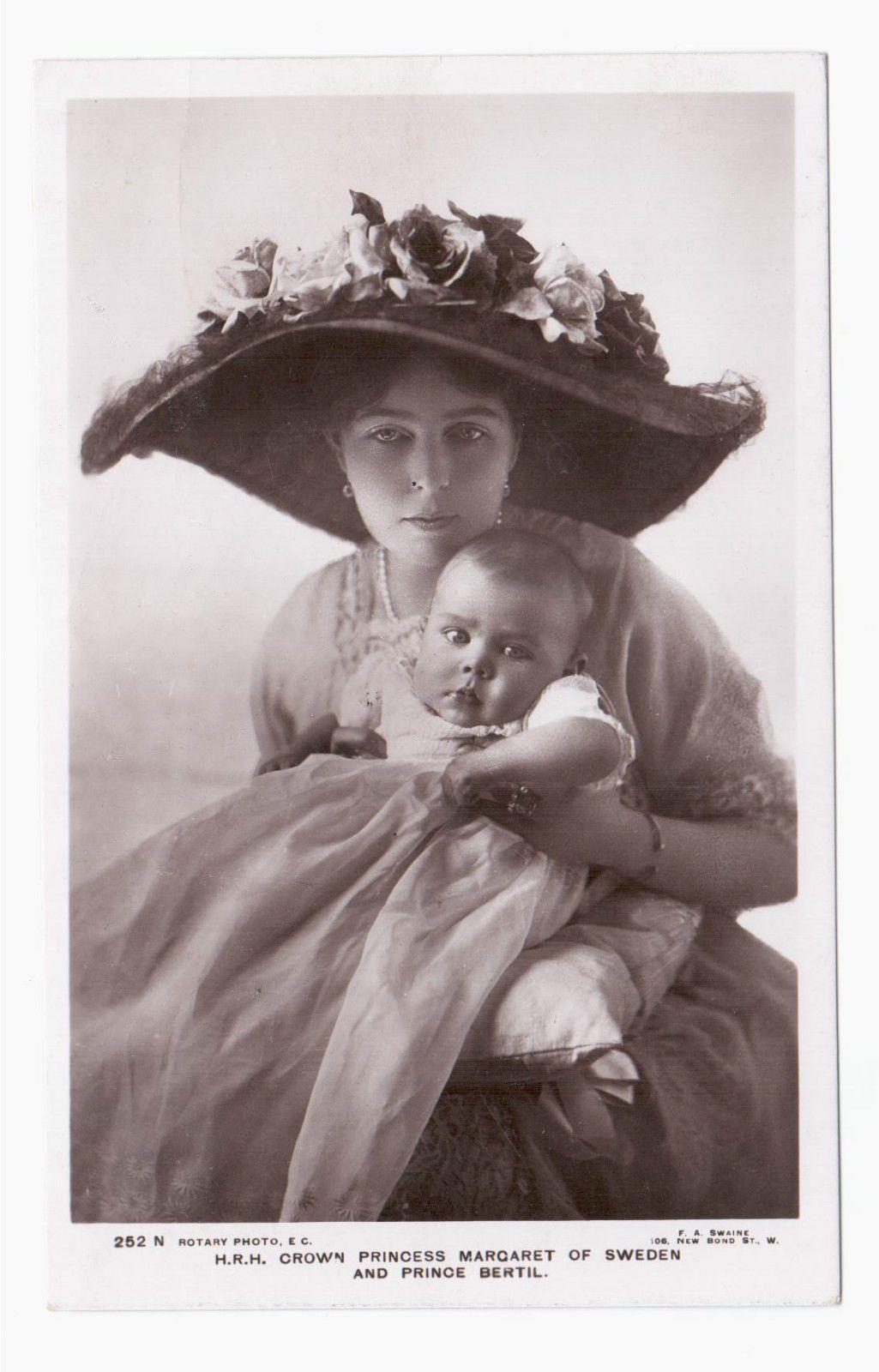 Crown Princess Margaret of Sweden Connaught and Prince Bertil