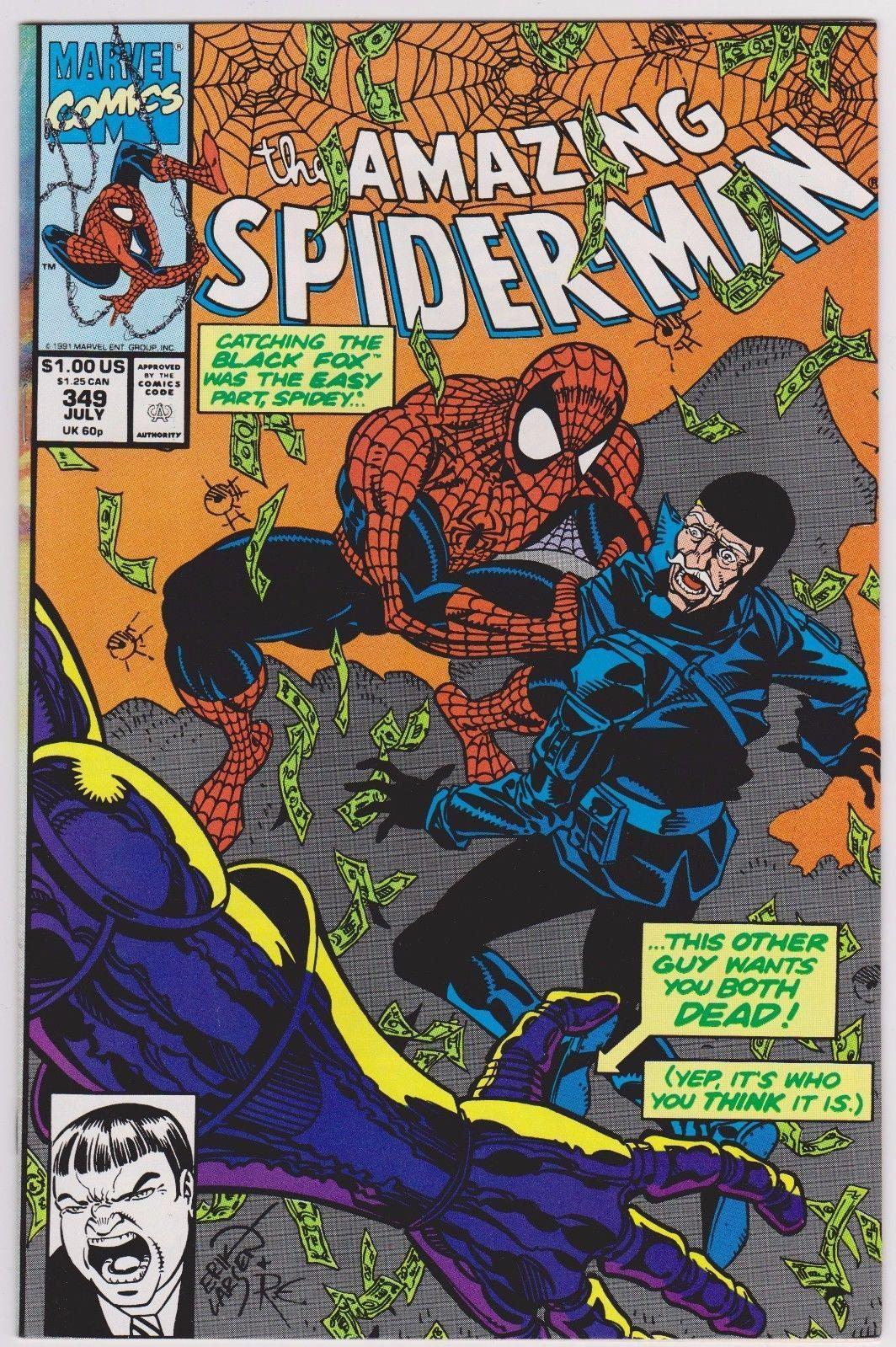 Amazing Spider-Man #349 9.0 VF/NM