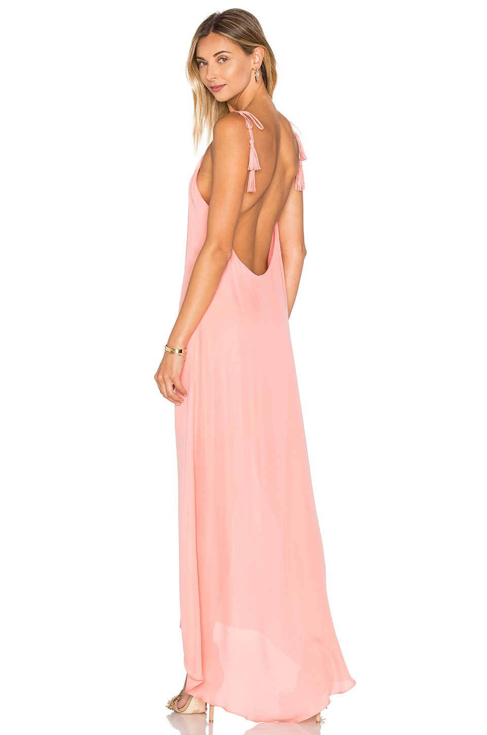 REVOLVE Maid By Yifat Oren Nelli Gown by Rory Beca in Coral $119 ...