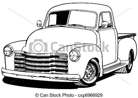 Chevy Pickup Truck Clipart Clipart Panda Free Clipart Images Vintage Chevy Trucks Chevy Pickup Trucks Chevy Pickups