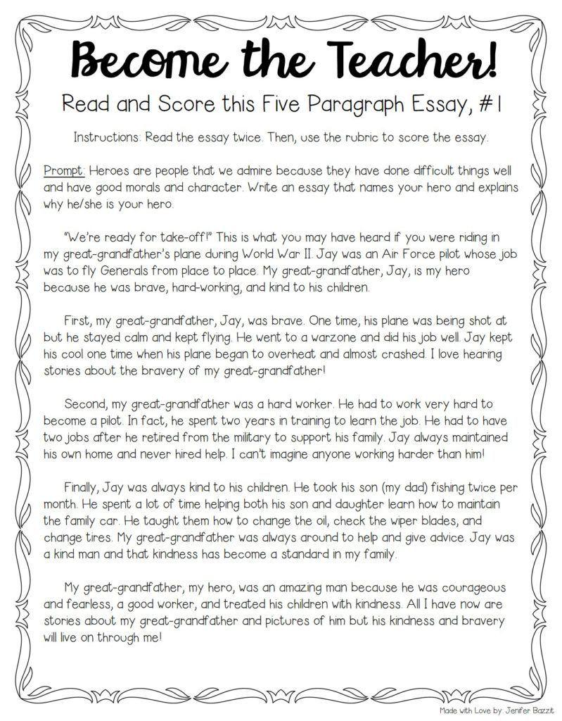 qualities of a good teacher essay
