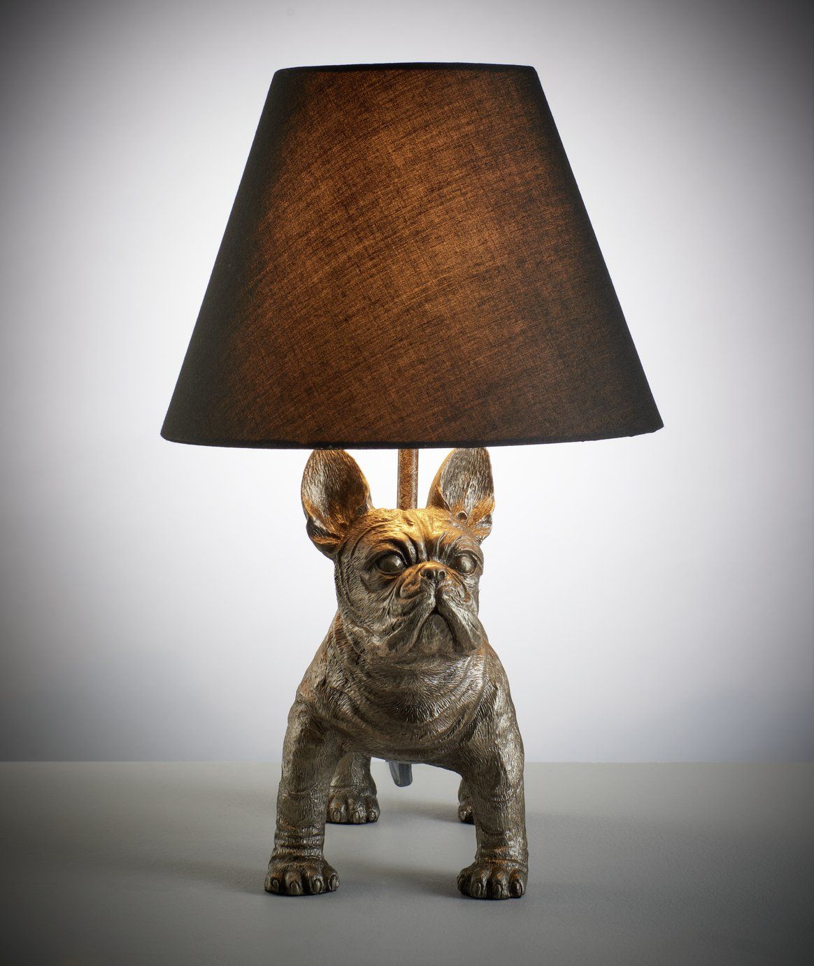 Argos Home French Bulldog Table Lamp In 2020 Table Lamp Cosy