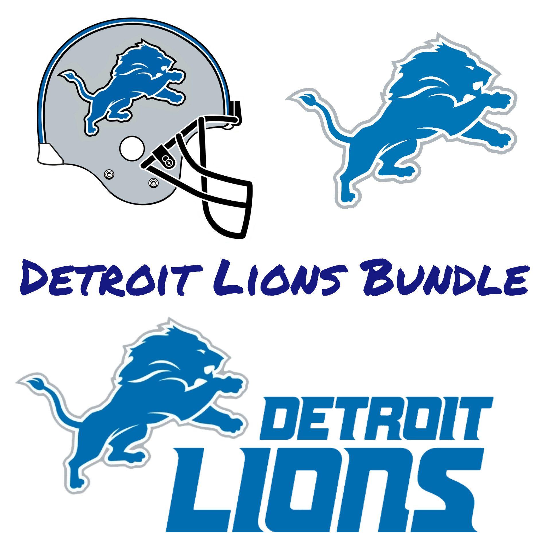 Detroit Lions Svg Detroit Lions Cricut Files Detroit Lions Etsy Detroit Lions Logo Detroit Lions Lions