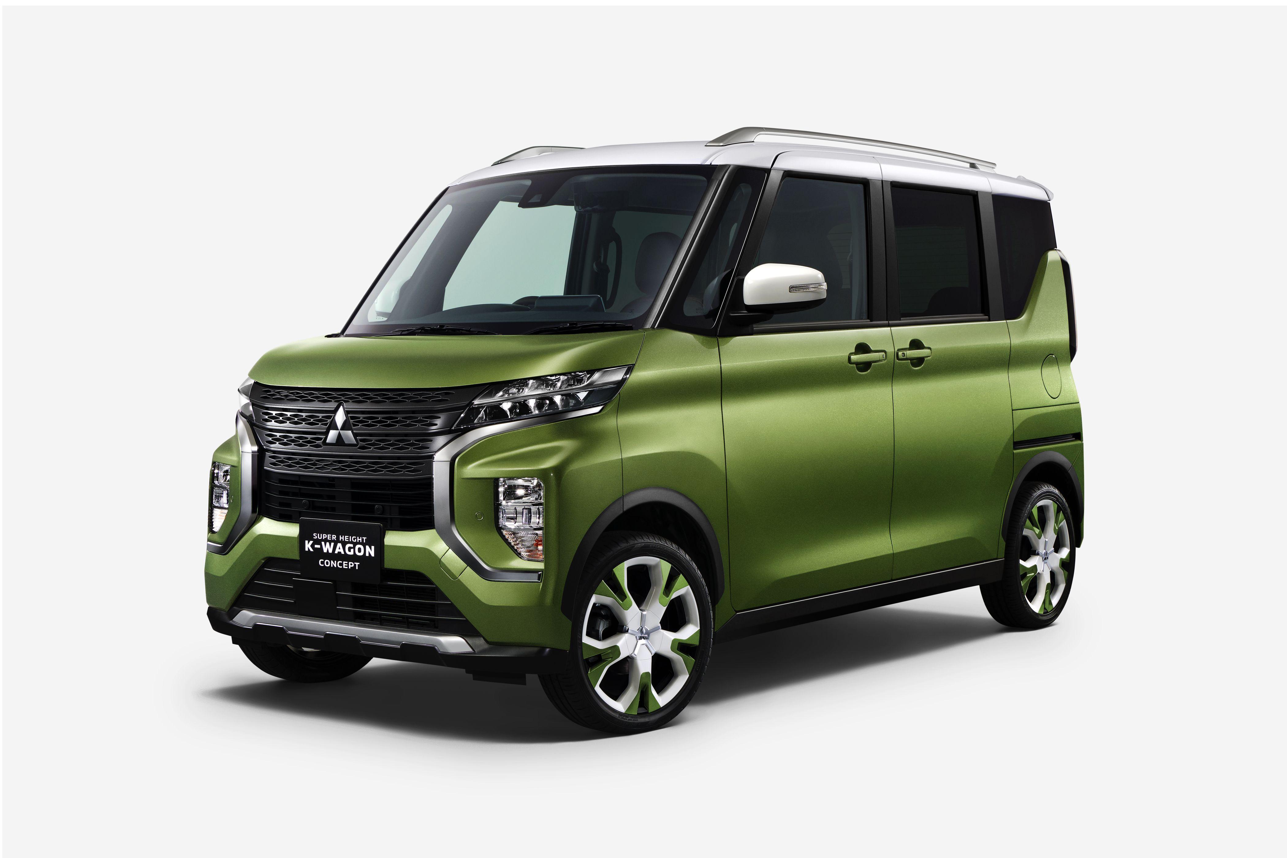 2020 Mitsubishi Super Height K Wagon Concept Top Speed Kei Car Mitsubishi Ek Wagon Tokyo Motor Show