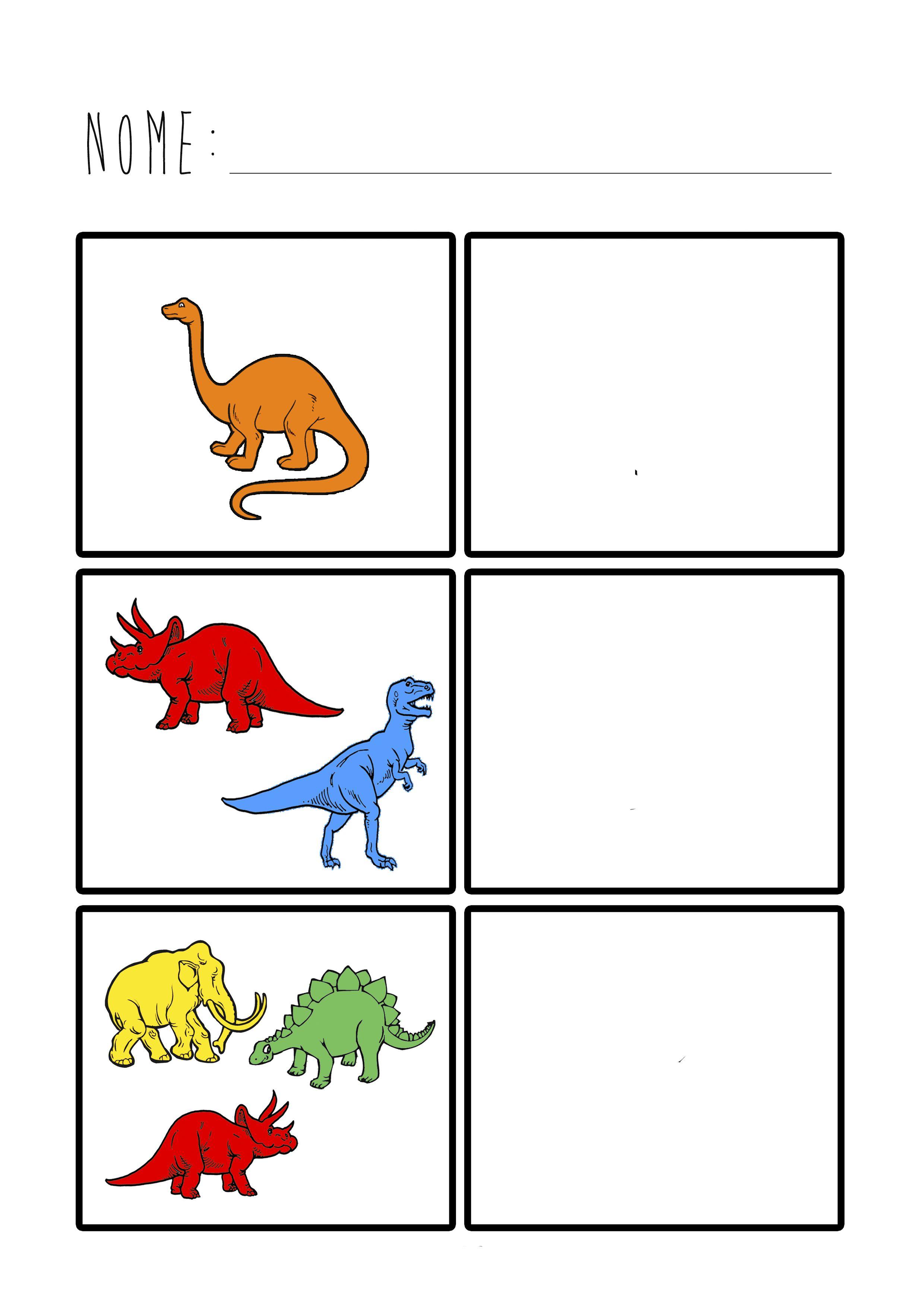 Proyecto Dinosaurio Contar S Pinterest