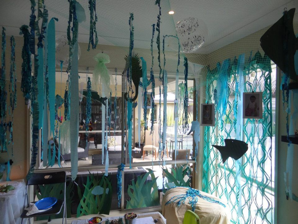 Baby photo themes for awesome photos on pinterest for Fish net decoration ideas