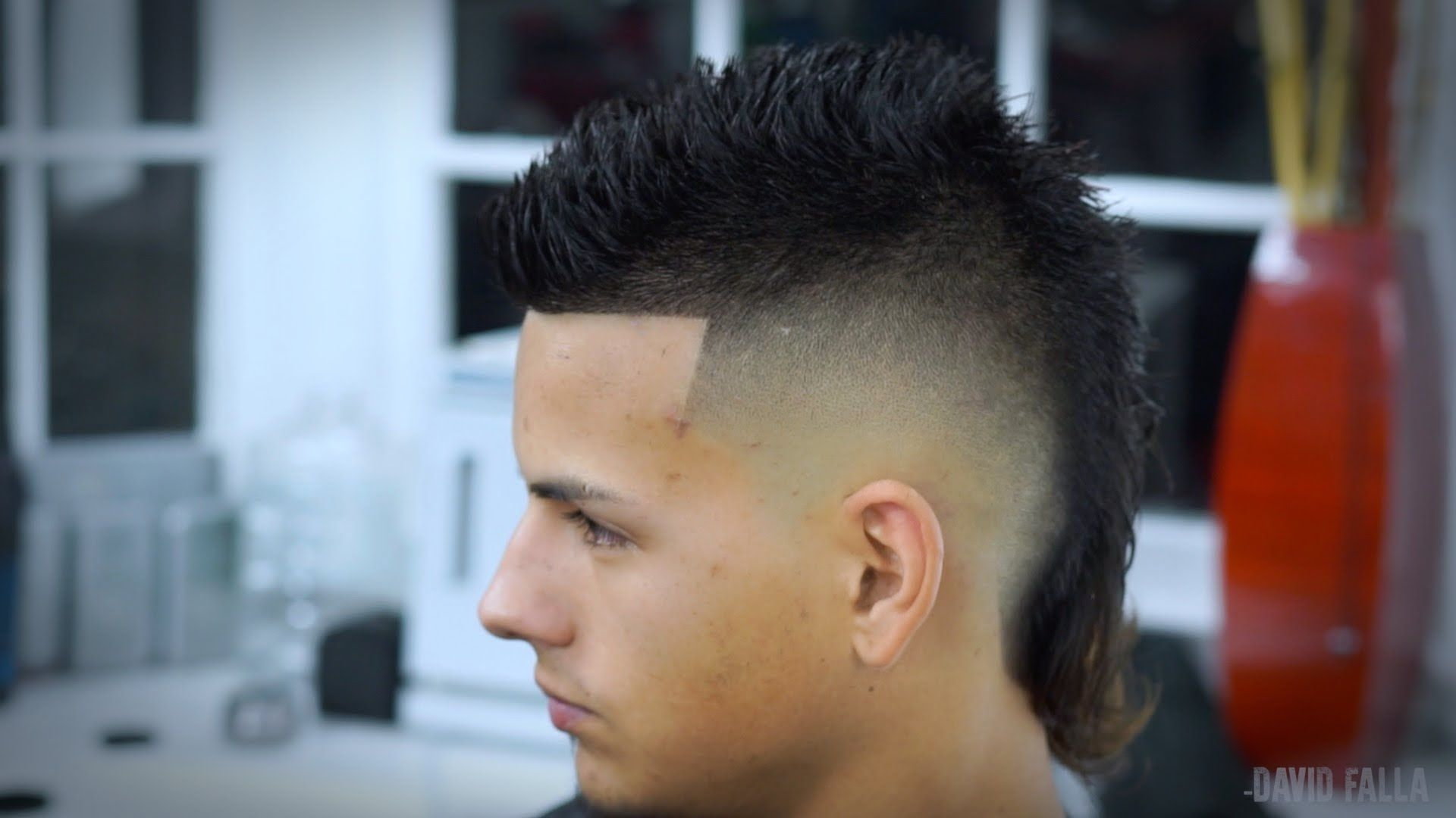 Watch Me Showcase A Siete Hawk Mohawk Hairstyle This Is A