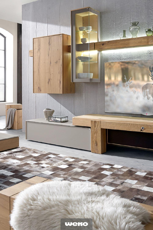 Diese Wohnkombination Besticht Durch Charme Und Funktion Und Wird Zum  Wahren Blickfang In Deinem Wohnzimmer.