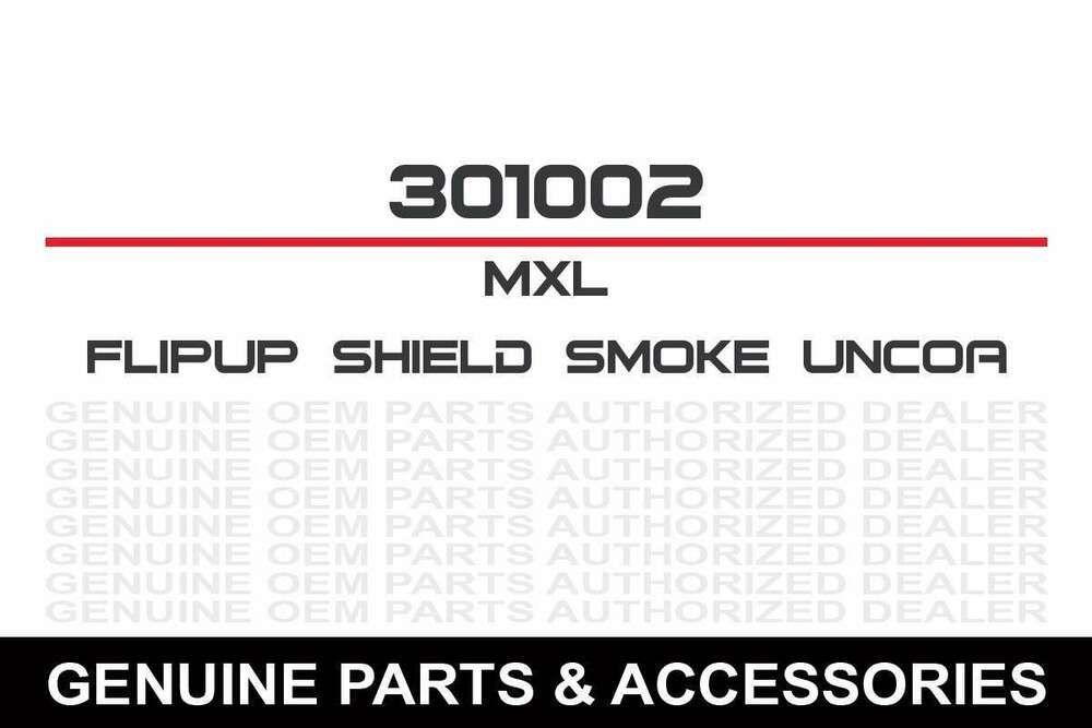 eBay Advertisement) Flip Up Shield Smoke Uncoated Brake  Brake