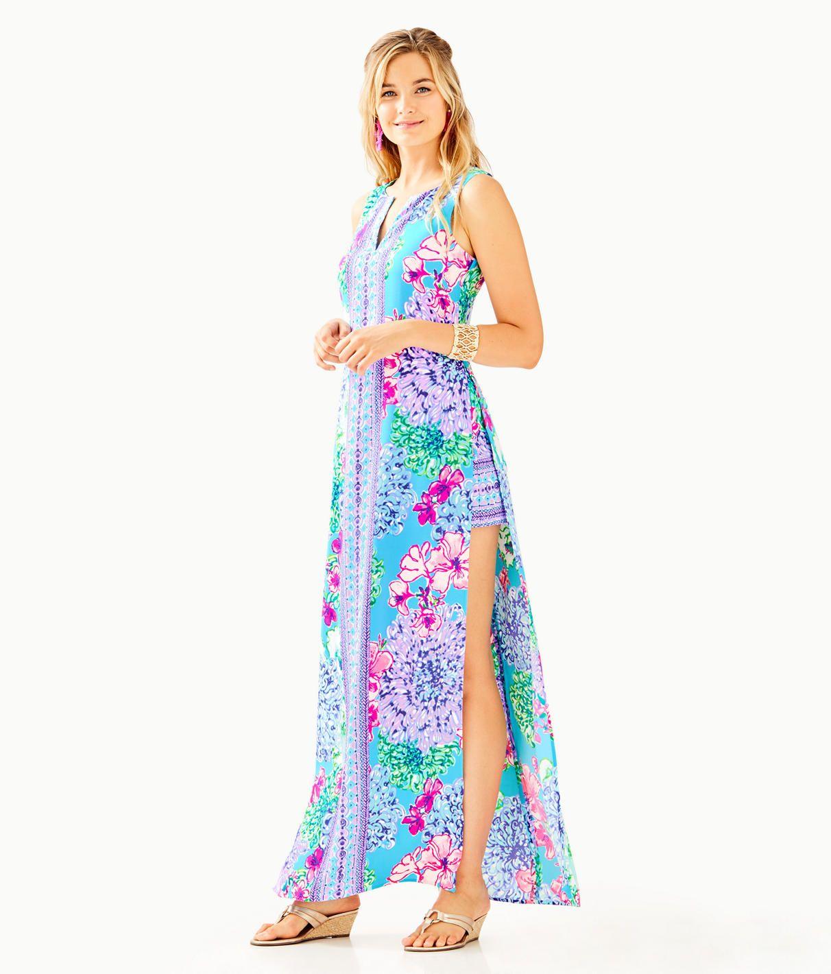 cbfdc133ded90d Donna Maxi Romper | Lily Pulitzer | Maxi romper, Fashion, Women's ...