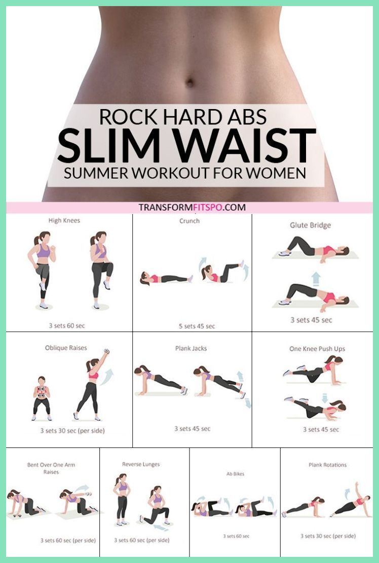 Photo of Rock Hard Abs – Slim Waist Workout for Women – Transform Fitspo   Weight Loss Exercises At Ho…
