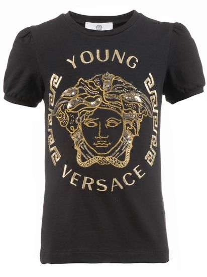 b37c4b832 Young Versace t-shirt, High Fashion Label, Designer Fashion for Kids, Luxus  Clothes
