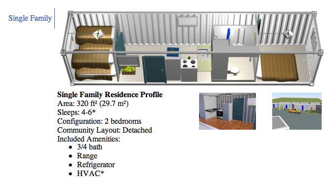 Container size floorplan though living in a metal house would be stupid must thermally - Sea container home designs ...