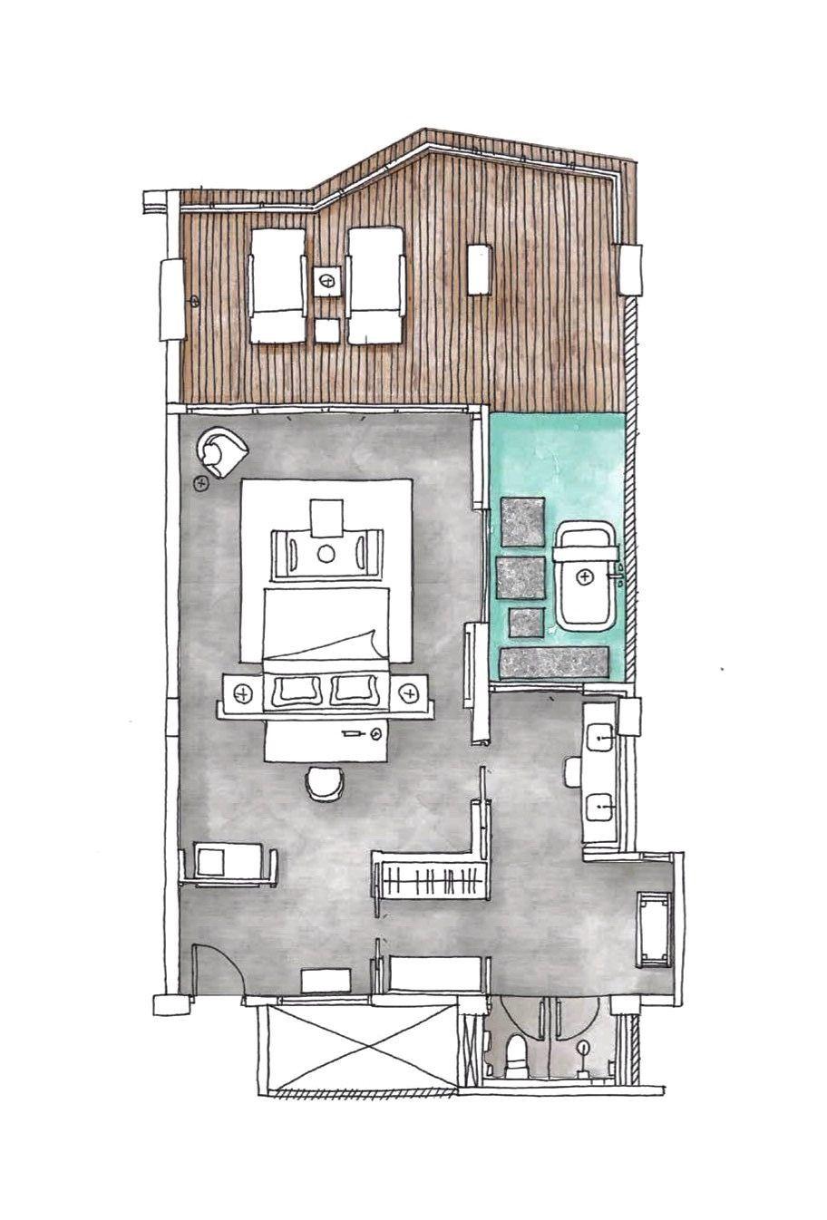 Hotel Room Plan: Pin By Jaran Jong On Pim Resort