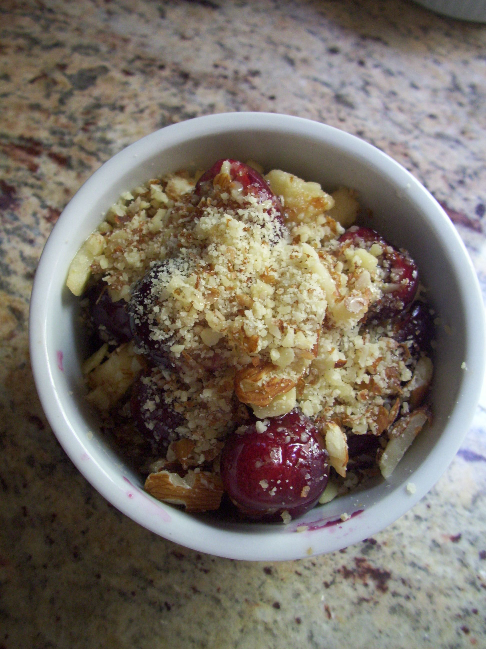 Cherry Cobbler (Delicious AND Allergen Free)
