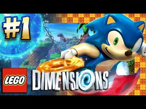 Lego Dimensions Ps4 Pro Sonic Level Pack Part 1 Green Hill Zone 4k 6 Lego Dimensions Lego Dimensions Ps4 Lego