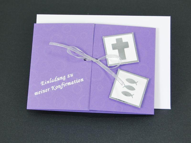 FebruarFun Bastelset 10 Einladungskarten Bubbles  von Cardlove.de auf DaWanda.com