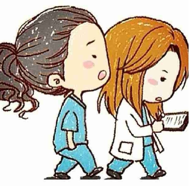 Greys Anatomy Cartoon Cristina Yang And Meredith Grey
