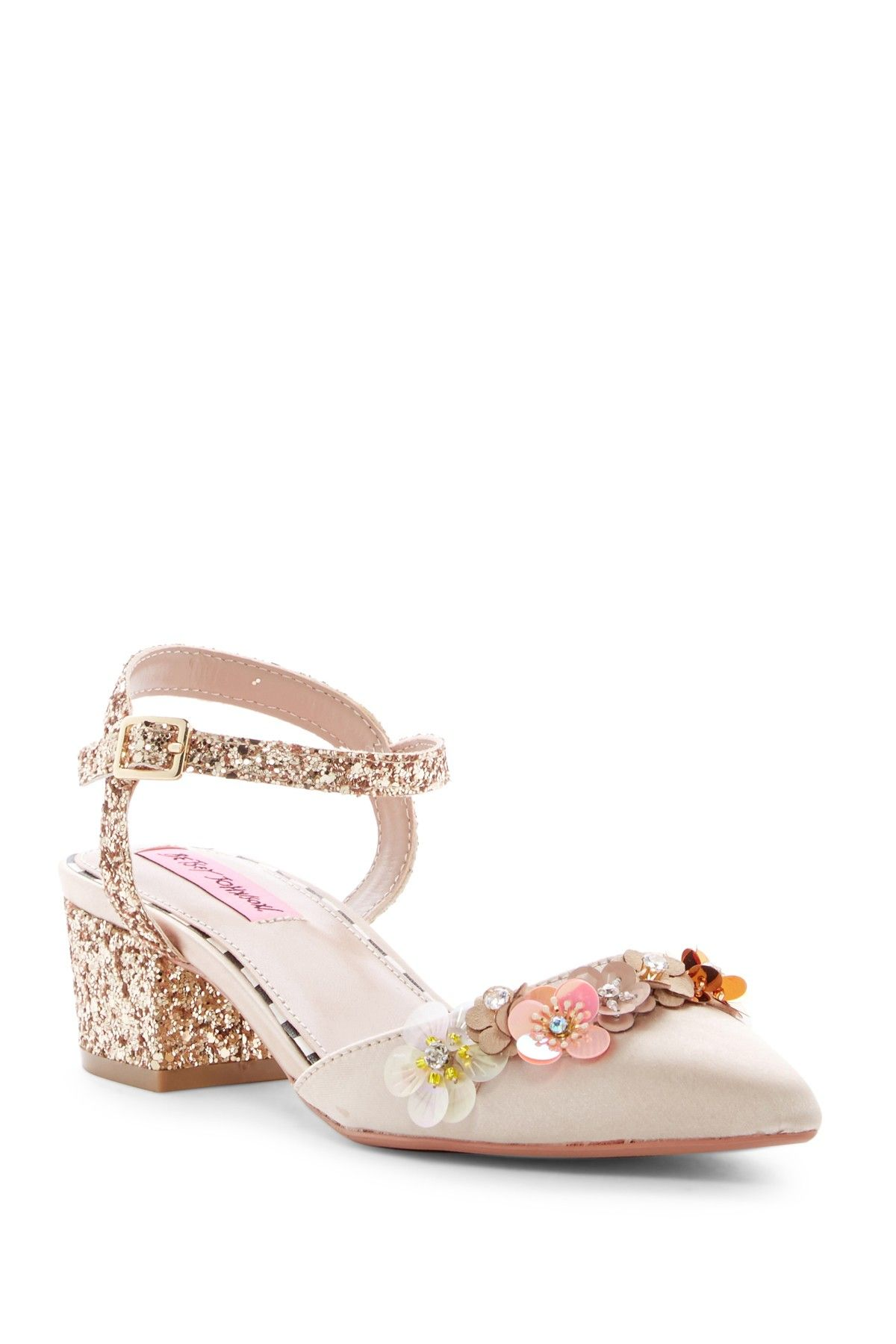 fbc23cca85d1 Ettah Block Heel Floral Sandal by Betsey Johnson on  nordstrom rack ...